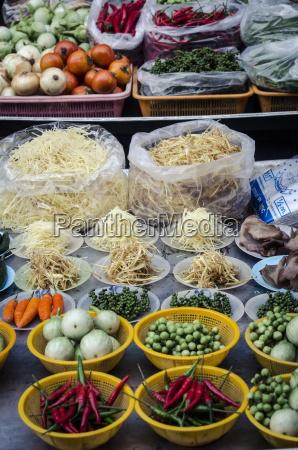 nonthaburi market bangkok thailand southeast asia