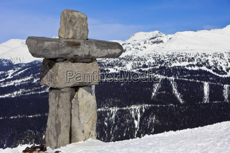 inukshuk symbol of friendship and welcome