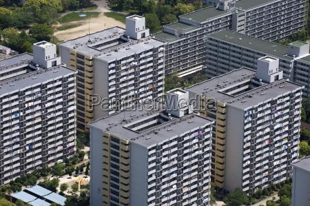 high rise complesso residenziale realizzato sul