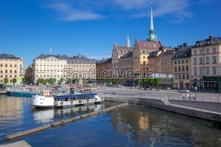 kornhamnstorg gamla stan stockholm sweden scandinavia