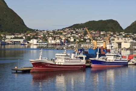fishing boats alesund more og romsdal