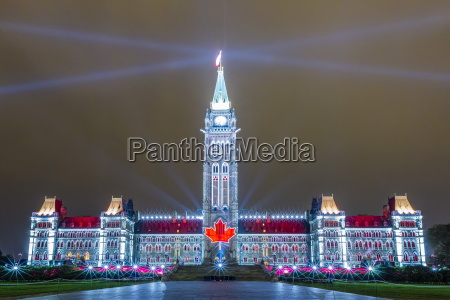 parliament hill sound and light show