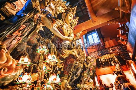 guanyin buddha at yong fu temple