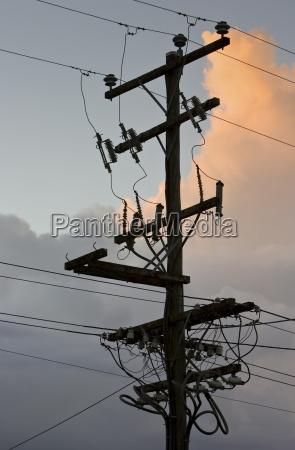 electricity pylon queensland australia