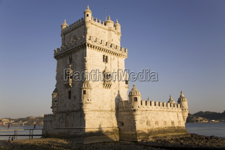 the manueline style tower of belem