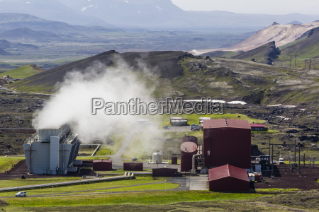 the geothermal krafla power station largest