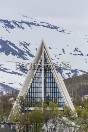 exterior view of the arctic cathedral