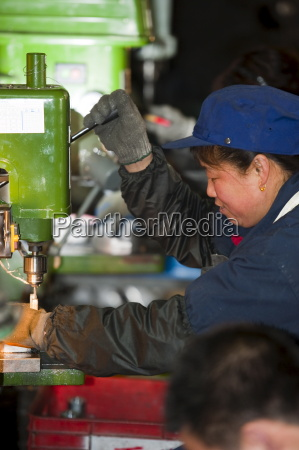 workers technological industry hebei province of