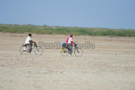 in rural india men go on