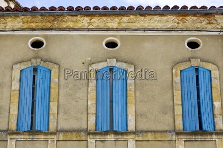 window shutters bastide darmagnac france