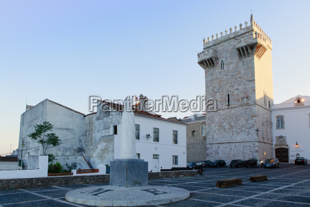 the castle of estremoz and in