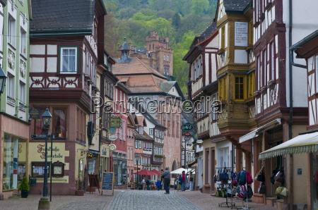 the historic town of miltenberg franconia