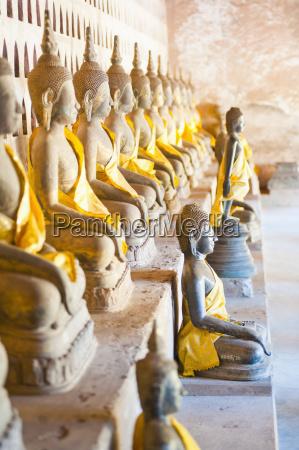buddhas at wat si saket the