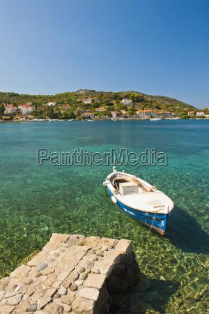 fishing boat kolocep island elaphiti islands