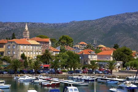 orebic harbour orebic dalmatian coast croatia