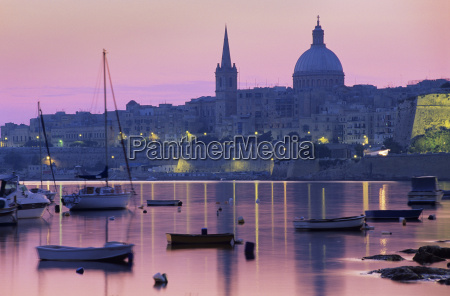 suise over msida creek to valletta
