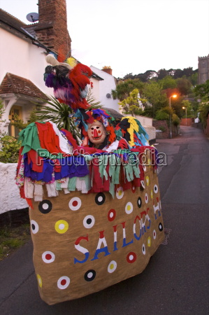 may day hobby horse minehead somerset