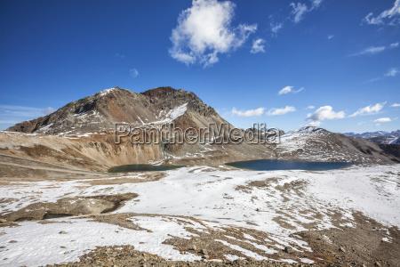 the blue water of lake languard