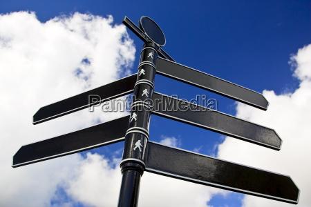 direction sign united kingdom
