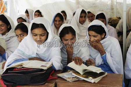 students of all female gundi pira