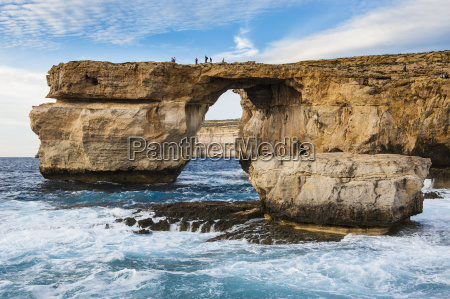 famous sea arch the azure window