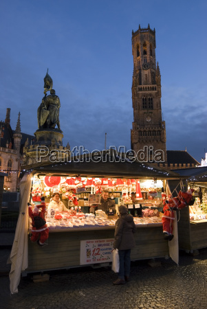 christmas market in the market square