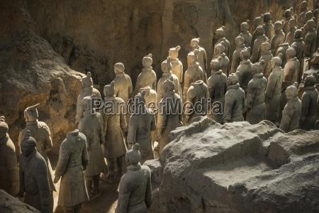 warriors terracotta army unesco world heritage