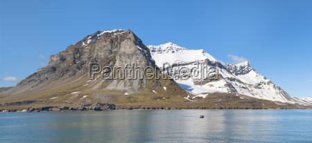 alkehornet spitsbergen west coast svalbard archipelago