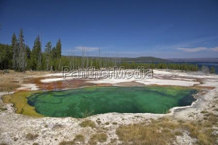 abyss pool west thumb geyser basin