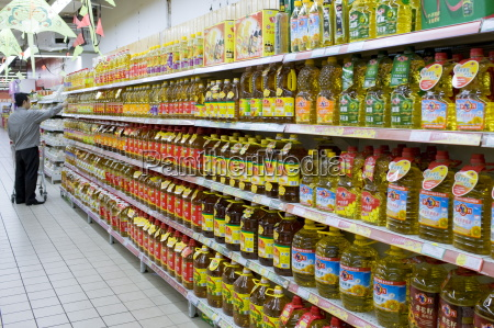 cooking oils in supermarket china the