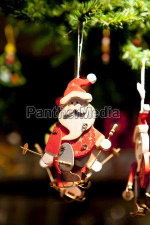 father christmas santa claus tree ornament