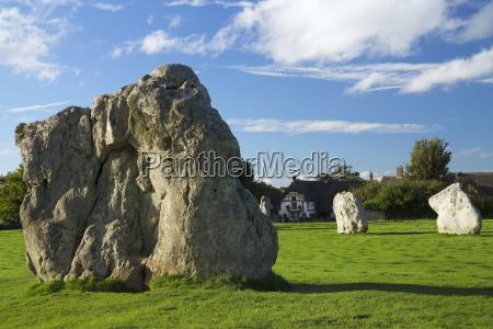 megalithic stone circle avebury unesco world