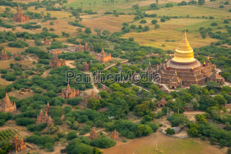 aerial view of the ancient city