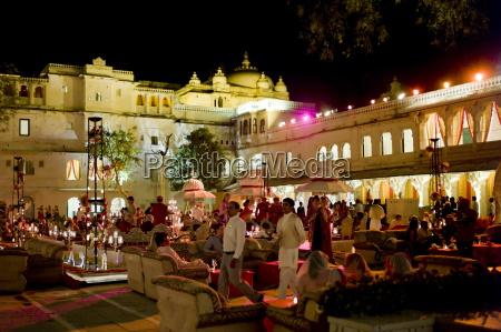 banquet of 76th maharana of mewar
