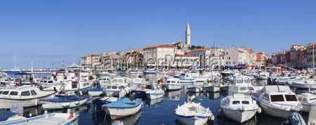 panoramic image of the harbour and