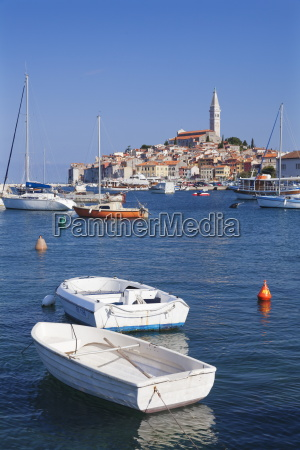 harbour and the old town with