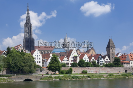 view over river danube to the