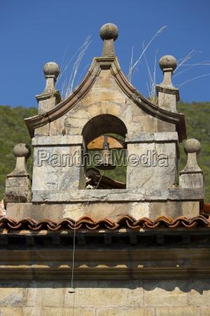 bell tower at cabazon de liebana