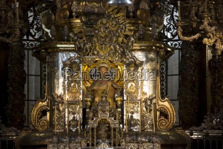 high altar in the roman catholic