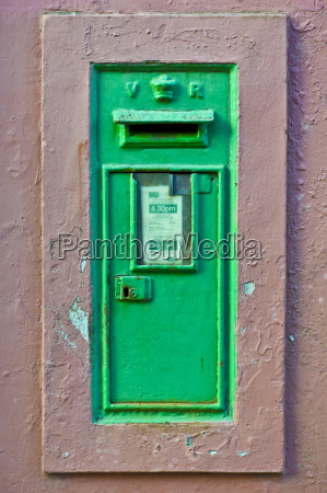 postbox from the time of queen