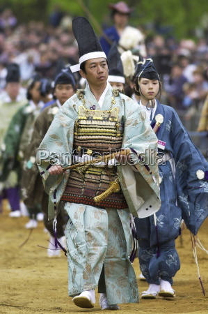characters in japanese traditional costumes at