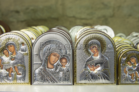 religious icons as souvenirs in the