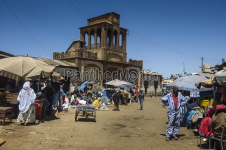 gate of the medebar market asmara