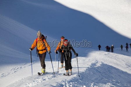 ski mountaineering in the dolomites pale