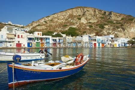 klima old fishing village milos island