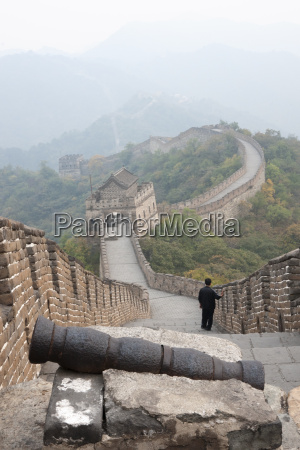 cannon great wall of china unesco