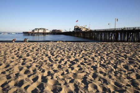 beach and stearns wharf santa barbara