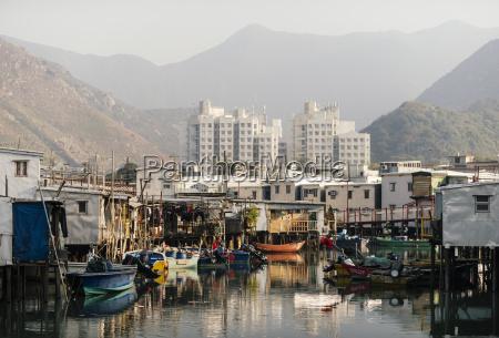 canal scene tai o fishing village
