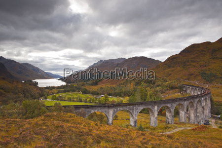 the magnificent glenfinnan viaduct in the