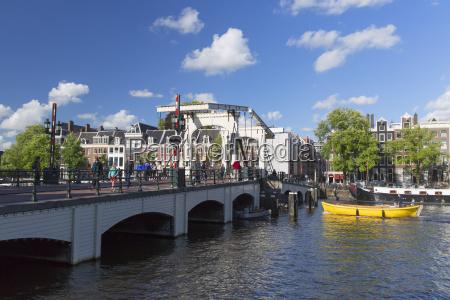 skinny bridge magere brug on amstel